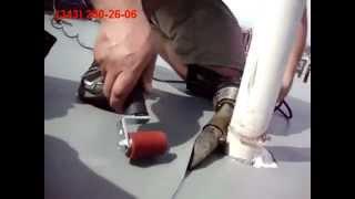 видео Кровельные машины: сварка пвх мембран