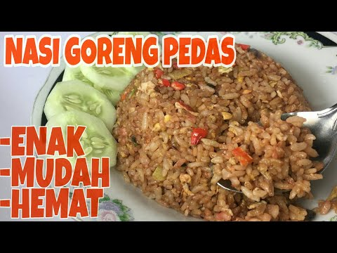 Bahan-bahan membuat nasi goreng yang enak..