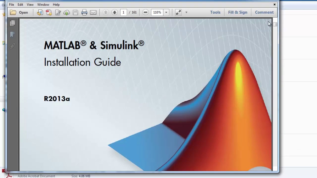 how to install matlab r2013a