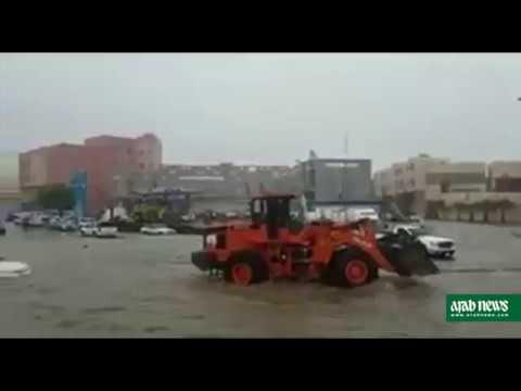 Floods and landslides in Asir region