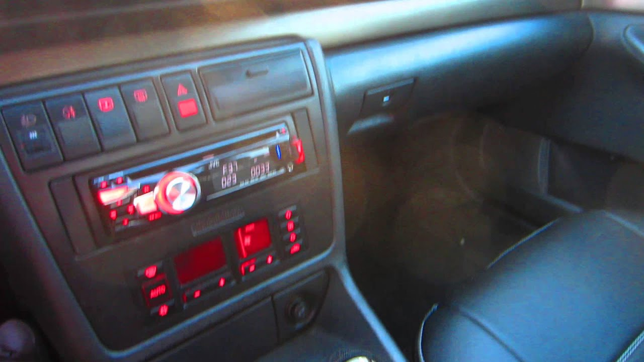 Audi A4 B5 Interior YouTube