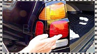 █ КАК ЗАМЕНИТЬ ЛАМПЫ задего фонаря на ... Replacement lamps, Mitsubishi Pajero Sport