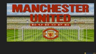 Manchester United Europe gameplay (PC Game, 1991)