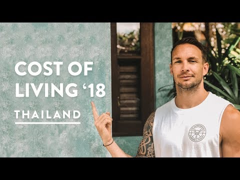 2018 MONTHLY CHIANG MAI COST OF LIVING - NIMMAN COSTS | Digital Nomad Vlog 127, 2018
