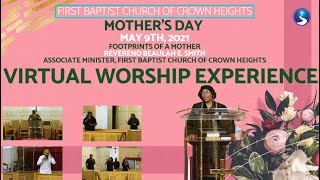 May 9th, 2021: Mother's Day Virtual Worship Experience