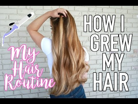 How to Grow Your Hair Longer | My Haircare Routine