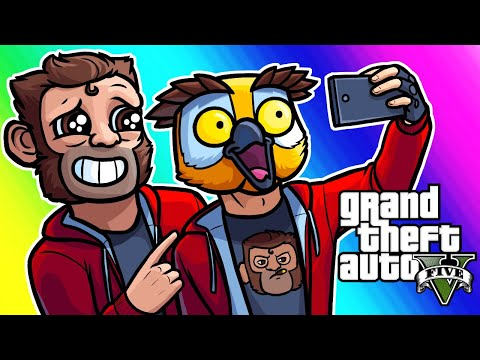 GTA5 Online Funny Moments - Lui Fanclub and Demolition Derby!