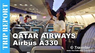 Qatar Airways - What´s Economy Class like on their Airbus A330? Penang to Doha