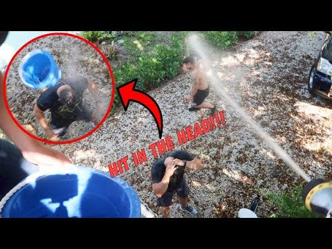 ROOF TOP WATER PRANK *GONE WRONG!*