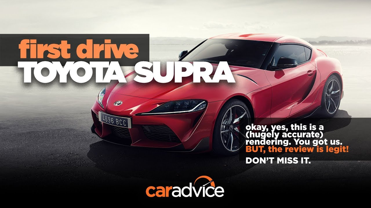 2019 Toyota Supra Review Prototype Drive Youtube