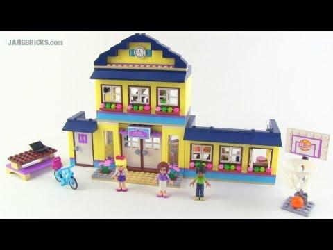Lego Friends Heartlake High Set 41005 Review Youtube