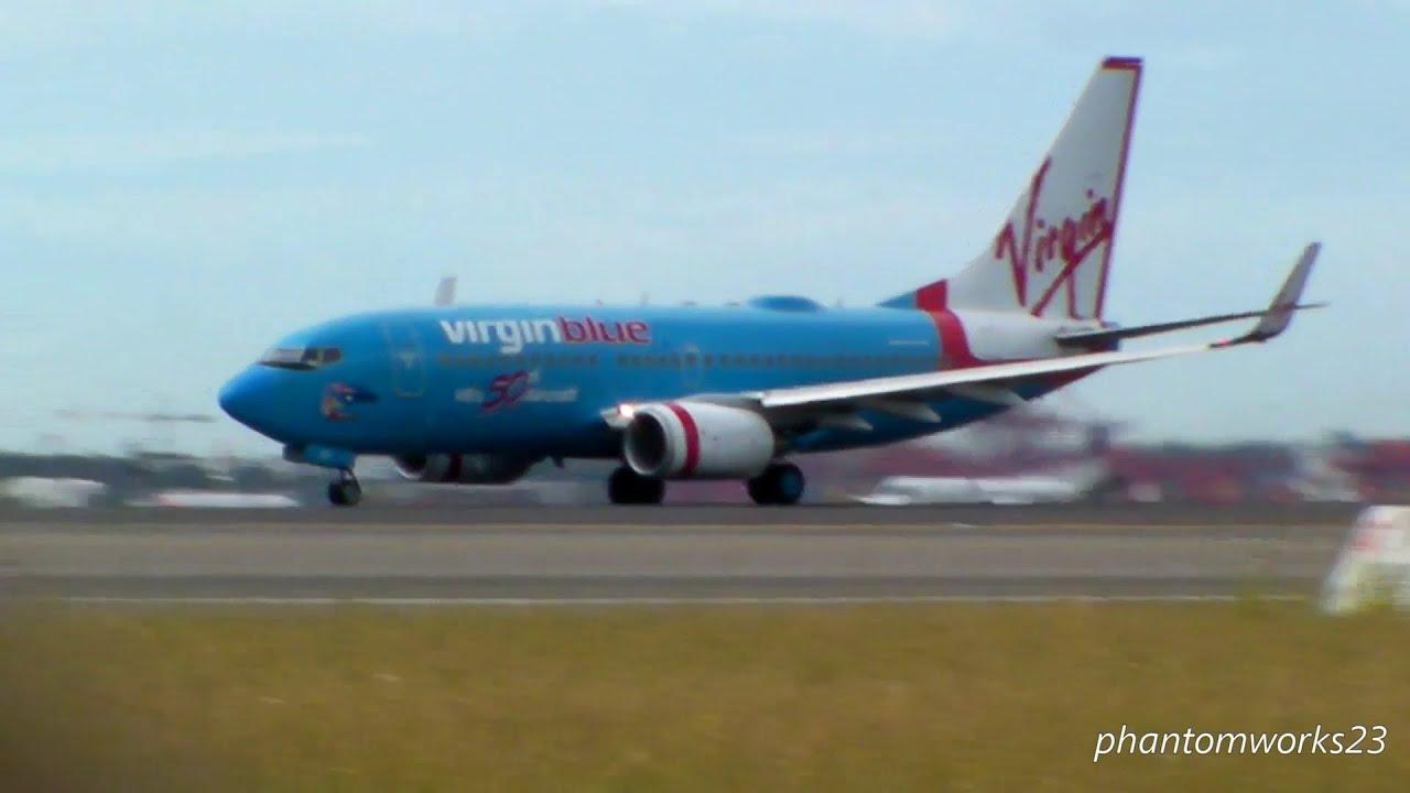 virgin airlines Blue