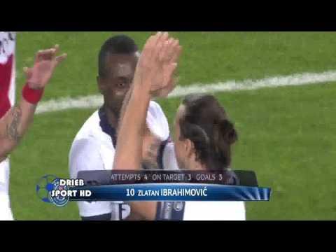 Zlatan Ibrahimovic Amazing Goal ~Anderlecht vs PSG 0 5 HD
