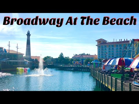 Broadway At The Beach Sunny Morning Visit - Myrtle Beach   Attractions