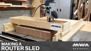 HOW TO BUILD A ROUTER SLED / SLAB FLATTENING MILL