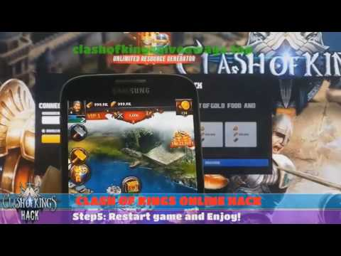 How to Hack Clash of Kings - Clash of Kings Unlimited Gold, Food and Wood Hack SUPER EASY