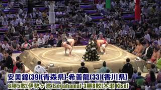 大相撲名古屋場所12日目.2018.7.19.