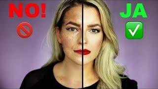 BRUTAL ❌Das MACHST DU täglich FALSCH ❌ SCHMINKFEHLER & CAKEY Face vermeiden | Power of Makeup
