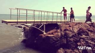 Denize atlama şov