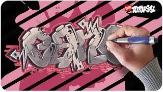Graffiti Tutorial für Anfänger - GANG Bubble Style