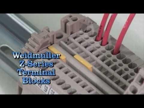 Weidmuller Z-Series Terminal Blocks