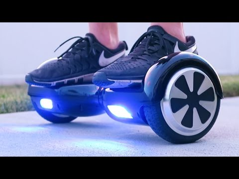 PUSHING A PERSON OFF A HOVERBOARD!!