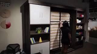 Шкаф купе с в строенной кроватью Бриони