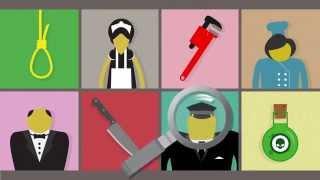 Настольная игра Клуэдо.  Детективная игра — Cluedo