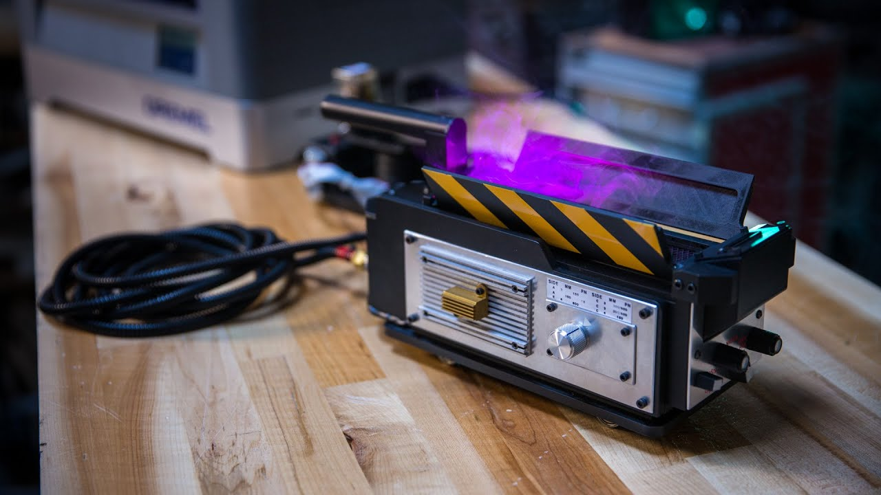 Making A Working Ghostbusters Ghost Trap Youtube