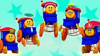 Five Little Babies   Bob The Train   Kindergaten Nursery Rhymes   Videos For Kids