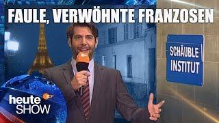 Claus von Wagner gibt den Franzosen ein paar Spartipps