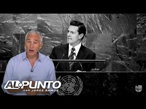 """Jorge Ramos: """"Los periodistas que se juegan la vida en México no se van a callar"""""""