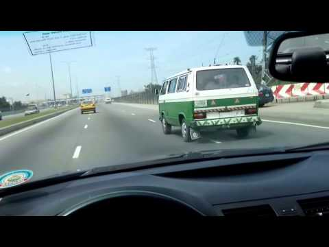 POV Driving in Lagos Nigeria  Lekki to VGC   Victoria Garden City