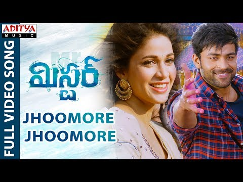 Jhoomore Jhoomore Full Video Song || Mister Video Songs || Varun Tej, Lavanya Tripathi, Hebah