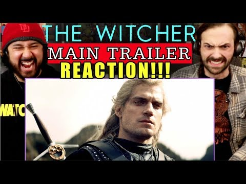 THE WITCHER | Main TRAILER - REACTION!!! *Netflix*