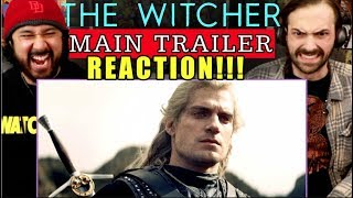 THE WITCHER | Main TRAILER - REACTION!!! *Netflix*