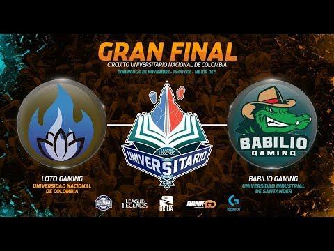 Loto Gaming (UNAL)  vs Babilio Gaming (UIS) - Gran Final CUN