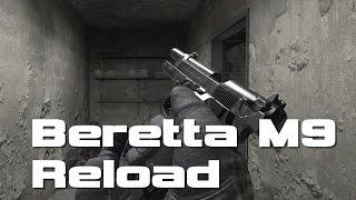 ベレッタM9リロードアニメーション40選 Beretta M9 Comparison In 40 Random Video Games