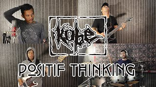 Kobe - Positive Thinking | METAL COVER by Sanca Records
