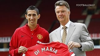 Manchester United unveil record £59.7m signing Ángel Di María
