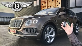 Bentley Bentayga Review POV Test Drive by AutoTopNL