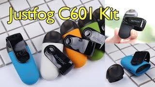Vaping for 2 days? Justfog C601 650mAh Ultra Portable Pod System Kit!