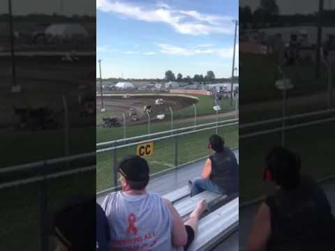Heat race eagle raceway