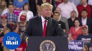 Trump bashes the FBI over Inspector General's report at rally - Daily Mail