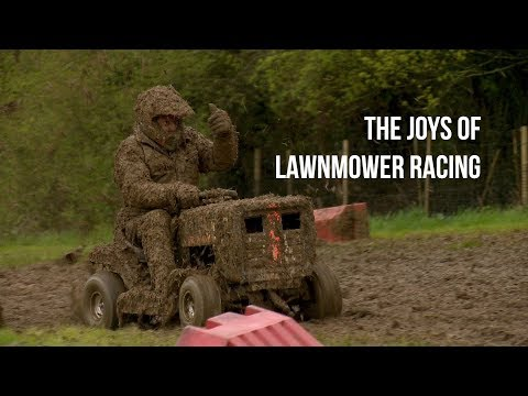 The Joys Of Lawn Mower Racing