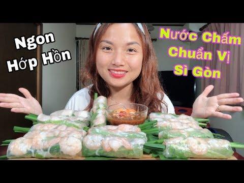 🇯🇵Ăn Gỏi Cuốn Tôm Thịt Chấm Tương Ngon Hớp Hồn – Nước Chấm Chuẩn Vị Sài Gòn#257