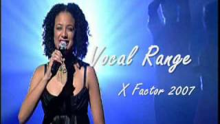 Download Sharon Kips - Vocal Range on X Factor 2007 MP3 song and Music Video