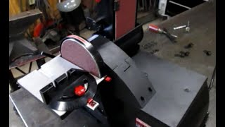 Craftsman Belt And Disc Sander Unboxing.