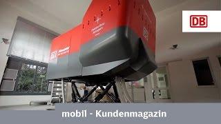 DB-Challenge - Lok BR 101 im Zugsimulator fahren
