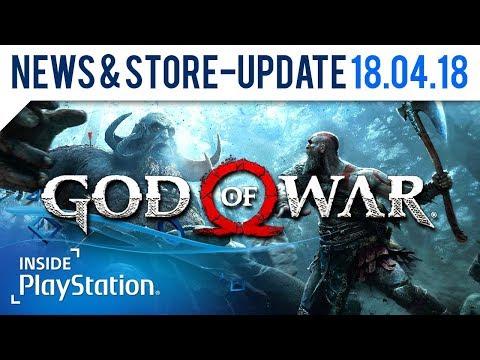 Kommt zum God of War Release-Event! | PlayStation News & Store Update